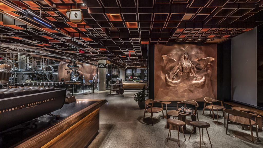 starbucks, new york, roastery, coffee, cafe