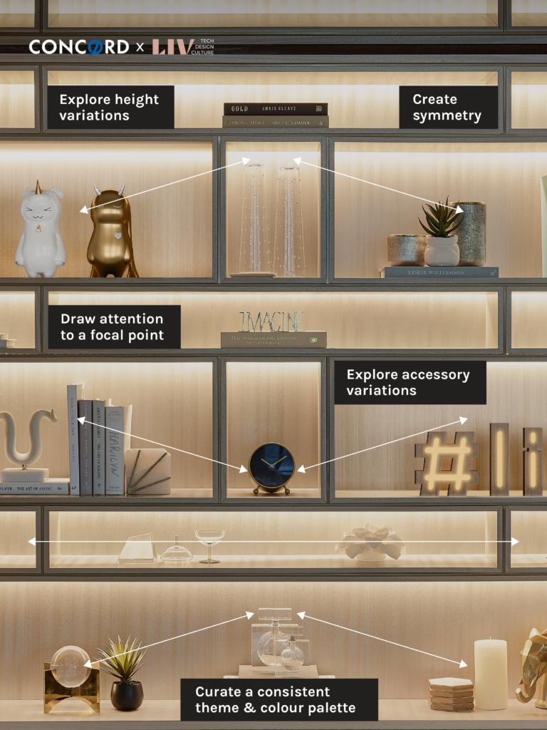 interior design home accessories - LIV Design - Concord Adex